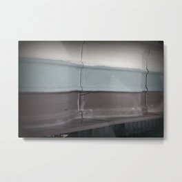 three colors Metal Print