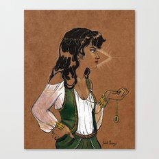 Clairvoyant Canvas Print