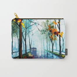 Tardis And The Street Chair Carry-All Pouch