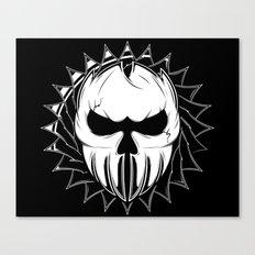 Skull Head One Canvas Print