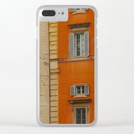 Neighbors to The Pope! Clear iPhone Case