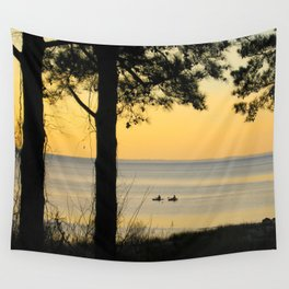 Go Kayaking Wall Tapestry