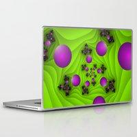 fractal Laptop & iPad Skins featuring Fractal by gabiw Art