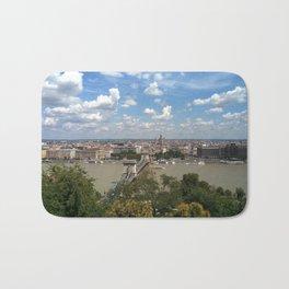 Budapest /Danube River/ Summer/ sunshine Bath Mat