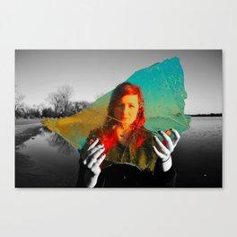 Reality Away Canvas Print