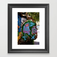 Poblenou, no te vayas :_( Framed Art Print