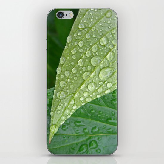rainy drops I iPhone & iPod Skin