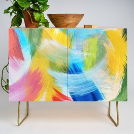 Feathery Swirl Credenza