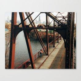 Cherry Avenue Bridge Canvas Print