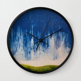 brooding sky Wall Clock