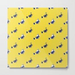 Yellow Jellies Metal Print