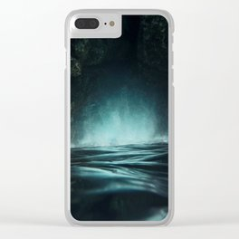 Surreal Sea Clear iPhone Case