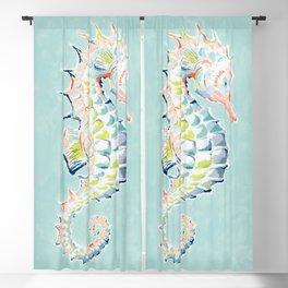 Seahorse Blackout Curtain