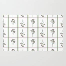 Archillea Flower Pattern Rug