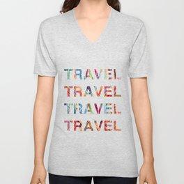 Travel Unisex V-Neck