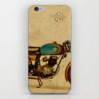 ducati iPhone & iPod Skins featuring Ducati 125 Aurea 1958 by Larsson Stevensem