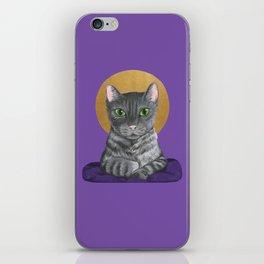 Lord Catpernicus iPhone Skin
