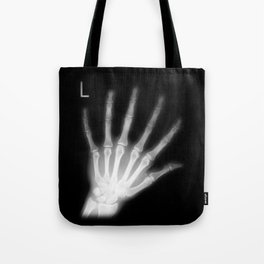 Extra Digit X-Ray Tote Bag