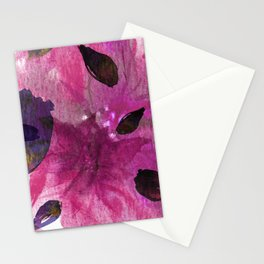 Watercolor Fuchsia Mirage Stationery Cards