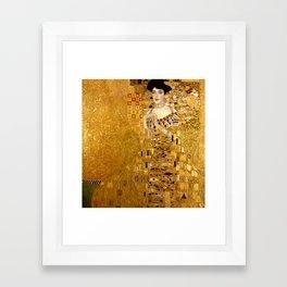 Woman in Gold Portrait by Gustav Klimt Framed Art Print