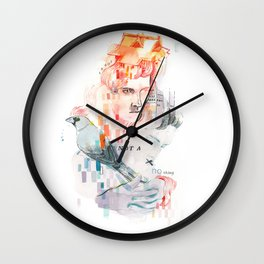 I can't speak your language Wall Clock