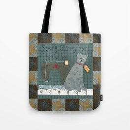 The Sewing Book Tote Bag