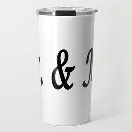Mr. & Mrs. Travel Mug