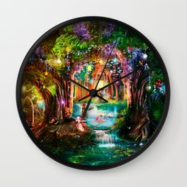 The Butterfly Ball Wall Clock