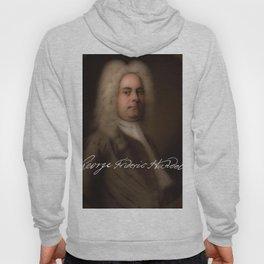 George Frideric (or Frederick) Handel (born Georg Friedrich Händel) by Balthasar Denner (c.1726–172 Hoody