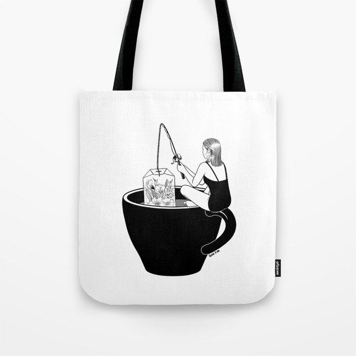 Laid-Back Time Tote Bag