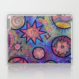Celestial Stars - Sending Love and Healing Light  Laptop & iPad Skin