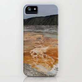 Mammoth Hot Spring Colors iPhone Case