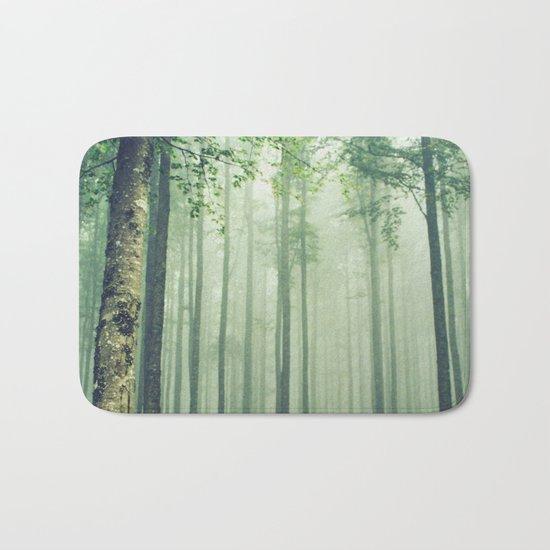 Foggy Woods Bath Mat