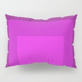 Block Colors - Purple Pink Pillow Sham