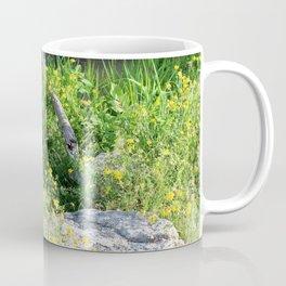 Wild Flowers by the Stream Coffee Mug