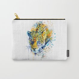 Lurking Leopard Carry-All Pouch