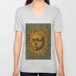 Sun Tarot Unisex V-Neck