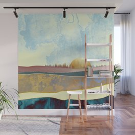 Hazy Afternoon Wall Mural