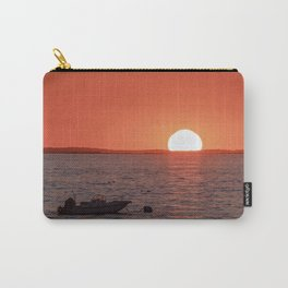 Plum Cove Beach Sunset 7-11-18 Carry-All Pouch