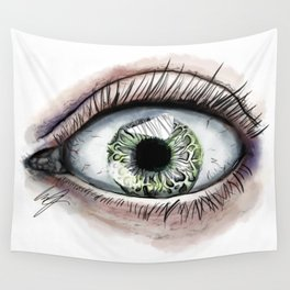 Macro Eye Wall Tapestry