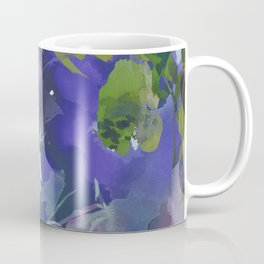 Violet Water Blossoms Coffee Mug