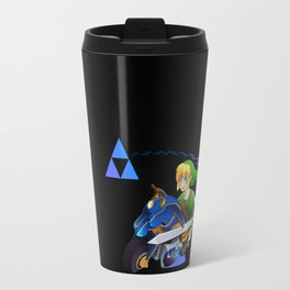 Mario Kart 8 - Link on the Mastercycle Travel Mug