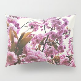 pink blossom Pillow Sham