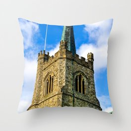 Ancient Church  Throw Pillow