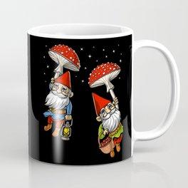 Magic Mushrooms Gnomes Trip Coffee Mug