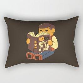 How To Be a Cat Rectangular Pillow