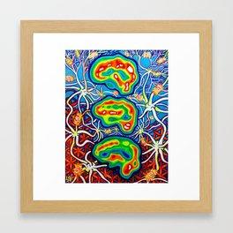 The Onset Framed Art Print