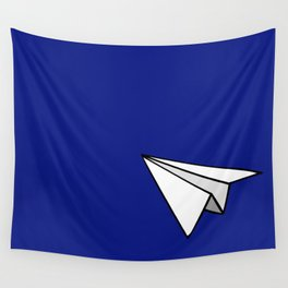 Paper Plane Wandbehang