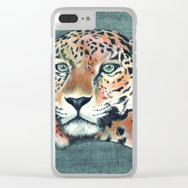 """Leopardo"" Clear iPhone Case"