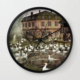 haunted house Wall Clock